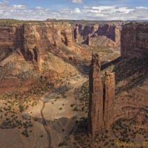 Spider Rock -Canyon de Chelly_