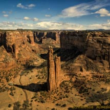 Spider-Rock-Canyon-di-Chelly_