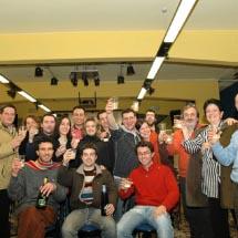 foto n. 1- Brindisi per l'elezione del Consiglio Direttivo -2007