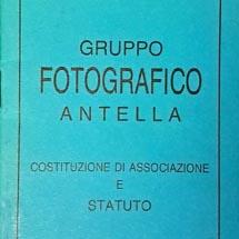 foto n. 5 - Statuto GFA -1990
